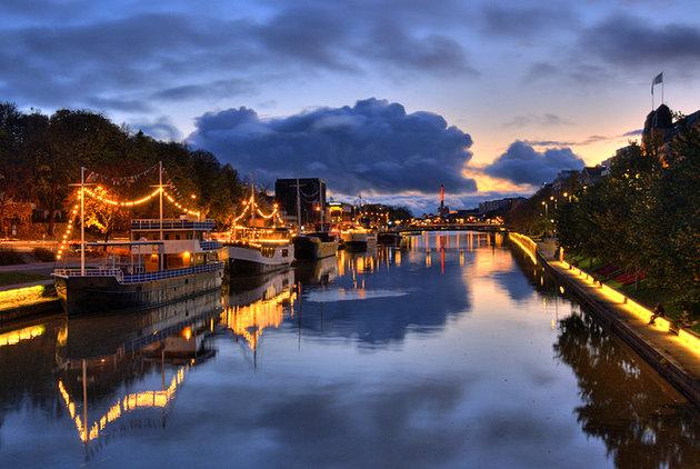 Helsinki, Finland- sunset